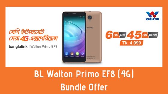 BL Walton Primo EF8 (4G) Bundle Offer