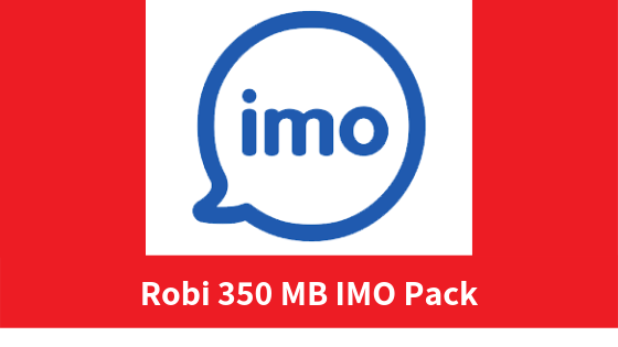 Robi 350 MB IMO Pack
