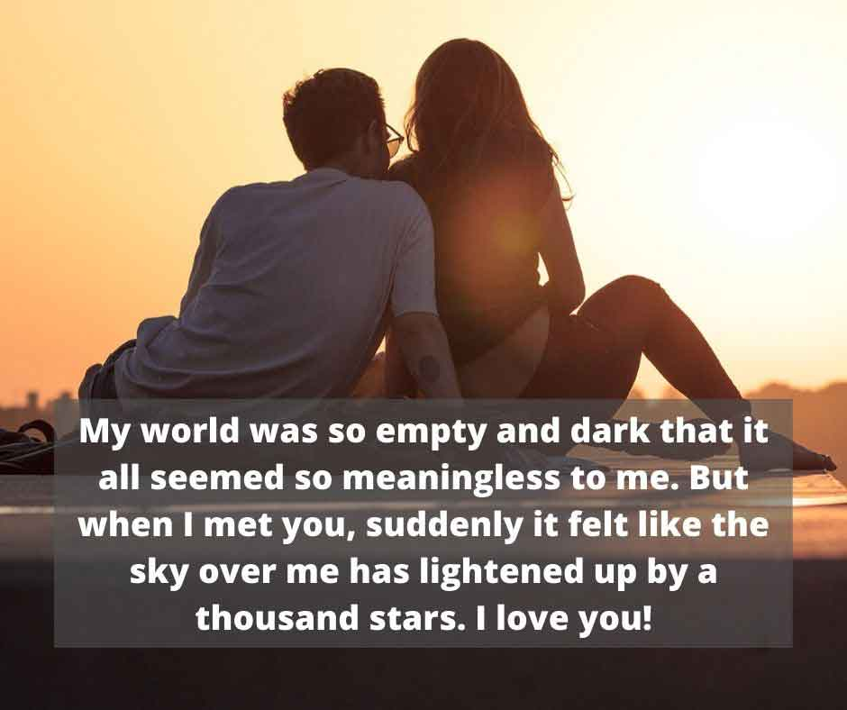 Caring Love Messages for Him
