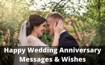 Happy Wedding Anniversary Messages & Wishes