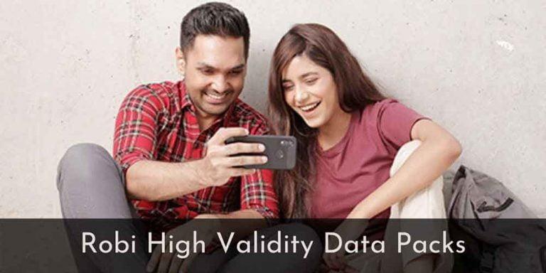 Robi High Validity Data Packs