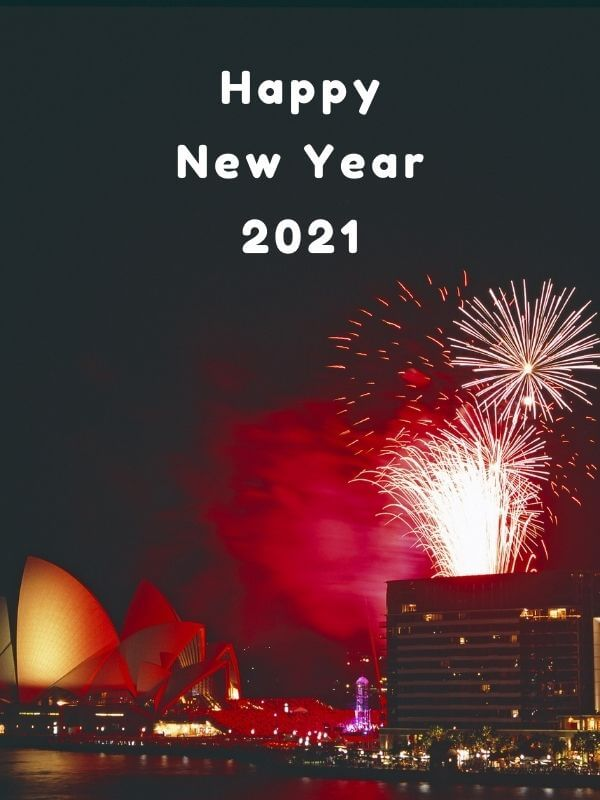 Amazing Happy New Year 2021 Fireworks
