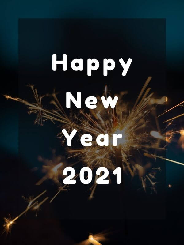 Awesome Happy New Year 2021