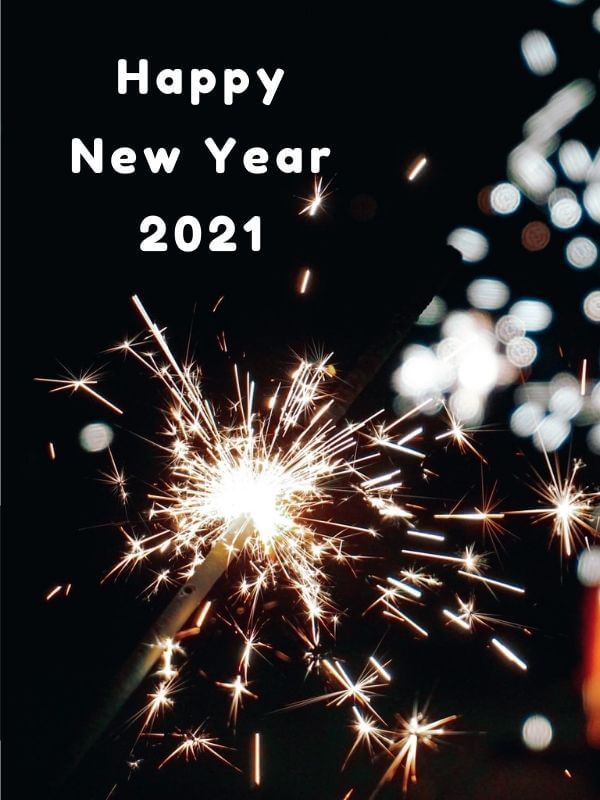 Happy New Year 2021 Wish Photo