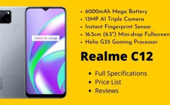 Realme C12 Full Specifications