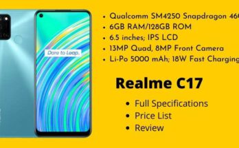 Realme C17 Full Specifications