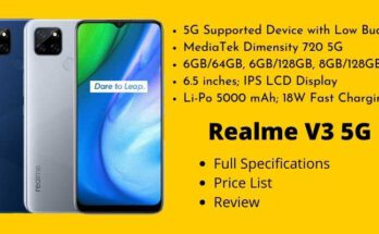 Realme V3 5G Full Specifications