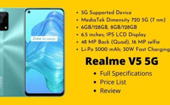 Realme V5 5G Full Specifications