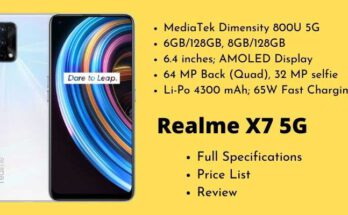 Realme X7 5G Full Specifications