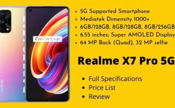 Realme X7 Pro 5G Full Specifications