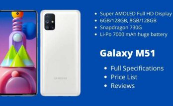 Samsung Galaxy M51 Full Specifications