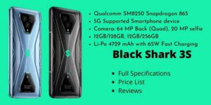 Xiaomi Black Shark 3S - Full Specifications