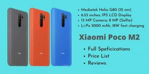 Xiaomi Poco M2 Full Specifications