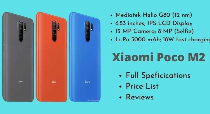 Xiaomi Poco M2 Full Specifications