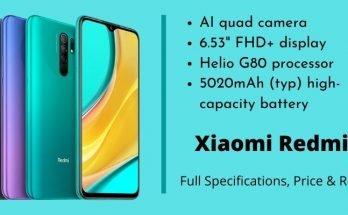 Xiaomi Redmi 9 Specs Price Reviews