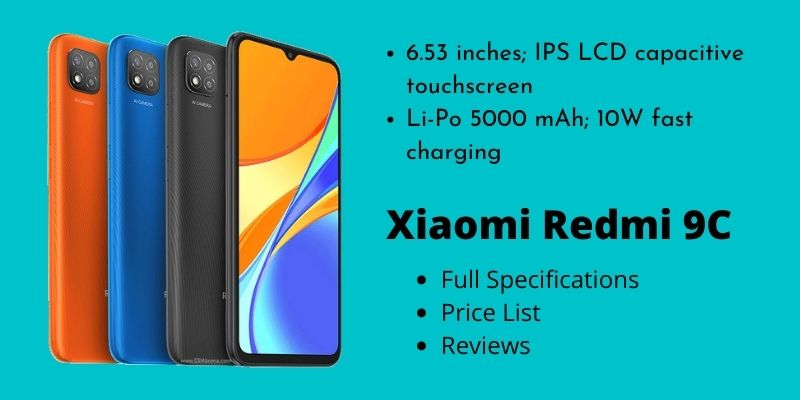 Xiaomi Redmi 9C – Full Specifications