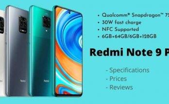 Xiaomi Redmi Note 9 Pro – Full Specifications