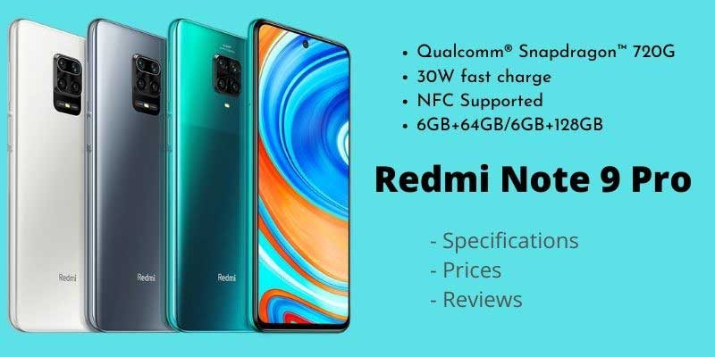 Xiaomi Redmi Note 9 Pro – Full Specifications