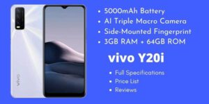 vivo Y20i Full Specifications
