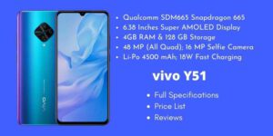 vivo Y51 Full Specifications