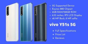 vivo Y51s 5G Full Specifications