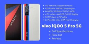 vivo iQOO 5 Pro 5G Full Specifications