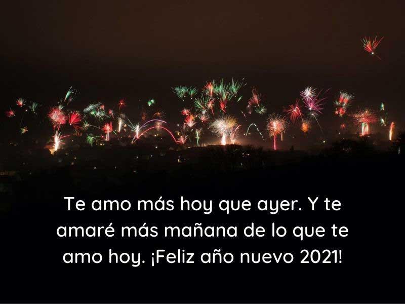 ¡Feliz año nuevo 2021