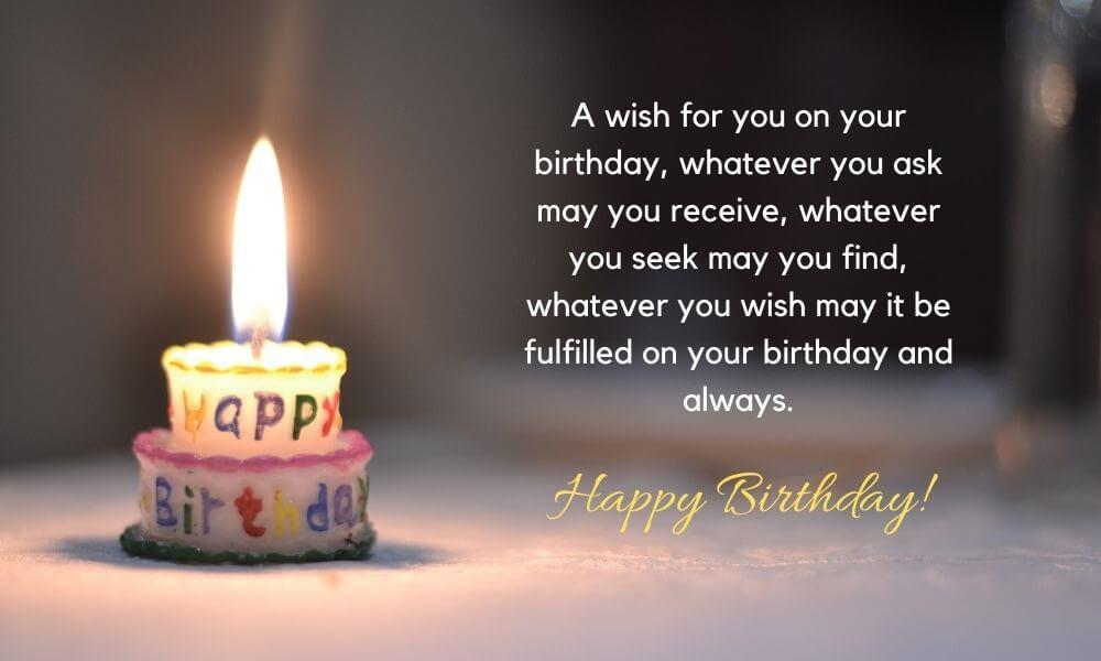 Birthday Wish for Lover