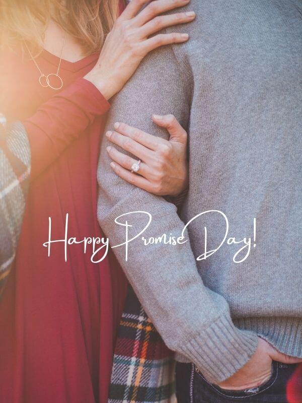 Cute Romantic Promise Day Wish