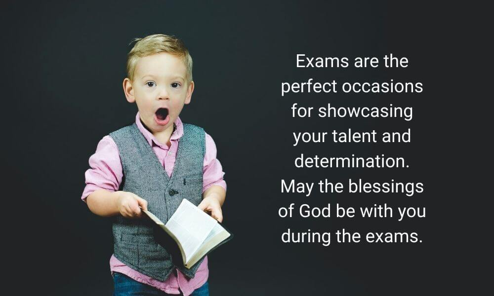 Final Exam Wish for Student