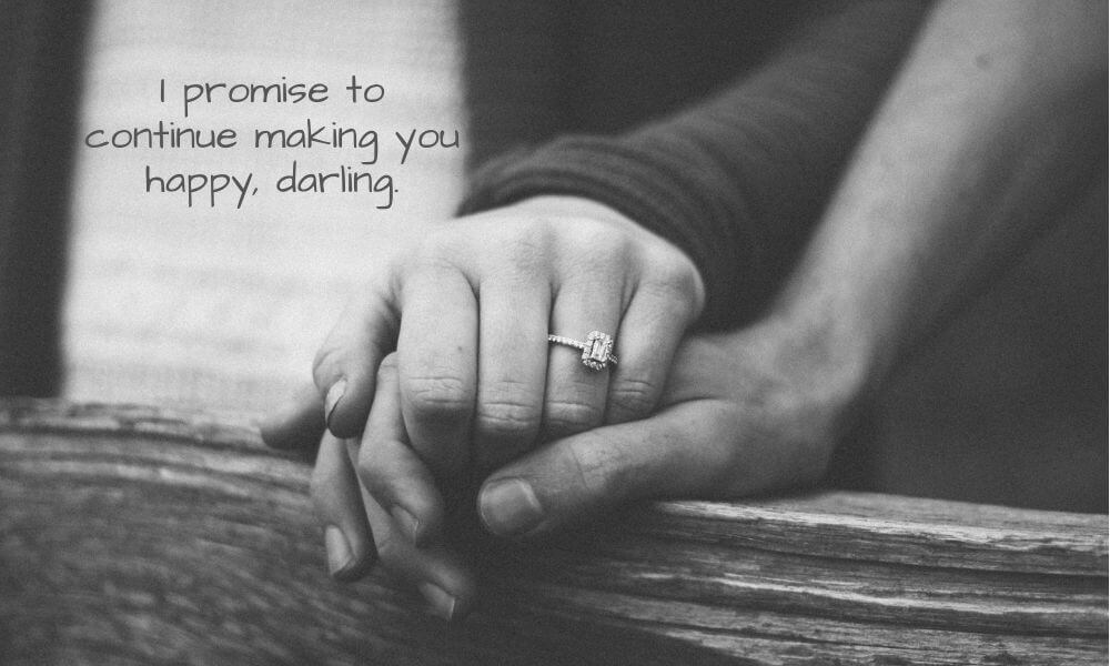 Happy Promise Day Quote for GF