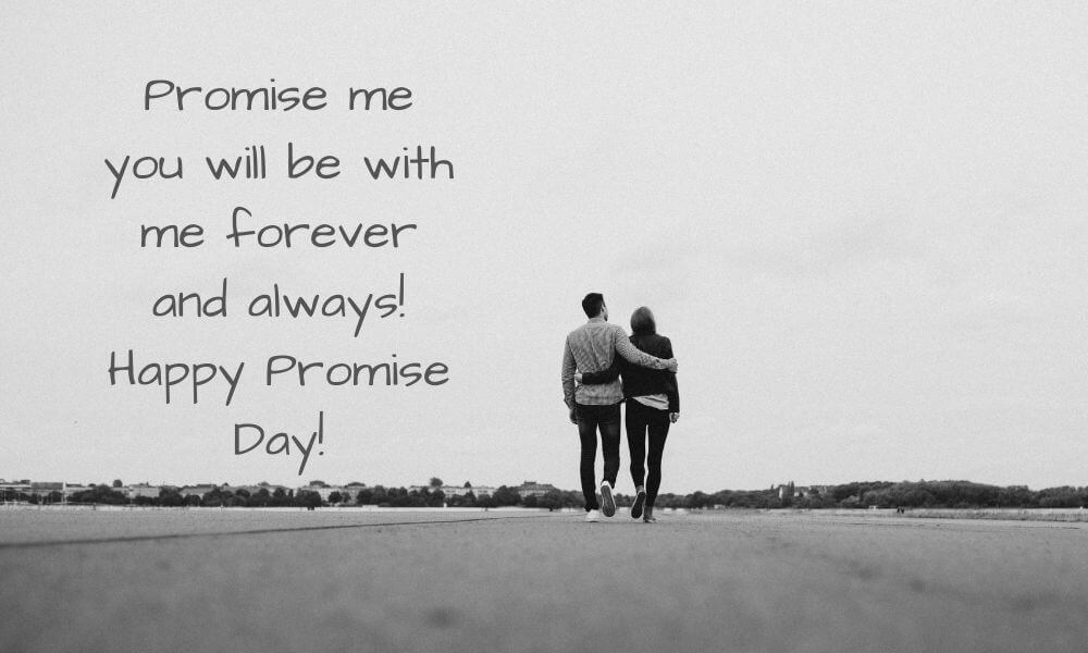 Happy Promise Day Quote for Wife