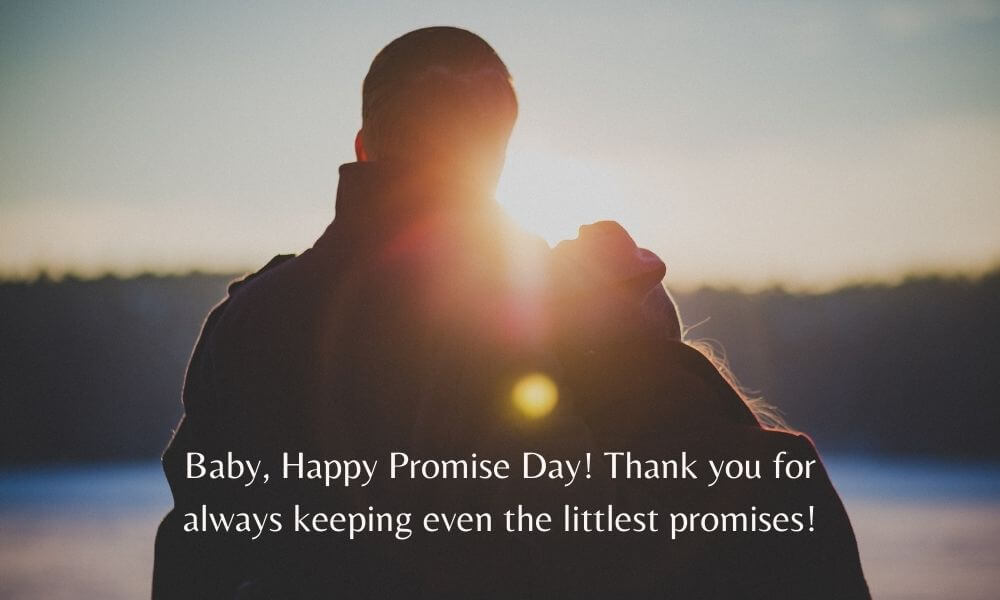 Happy Promise Day Text Image for Lover