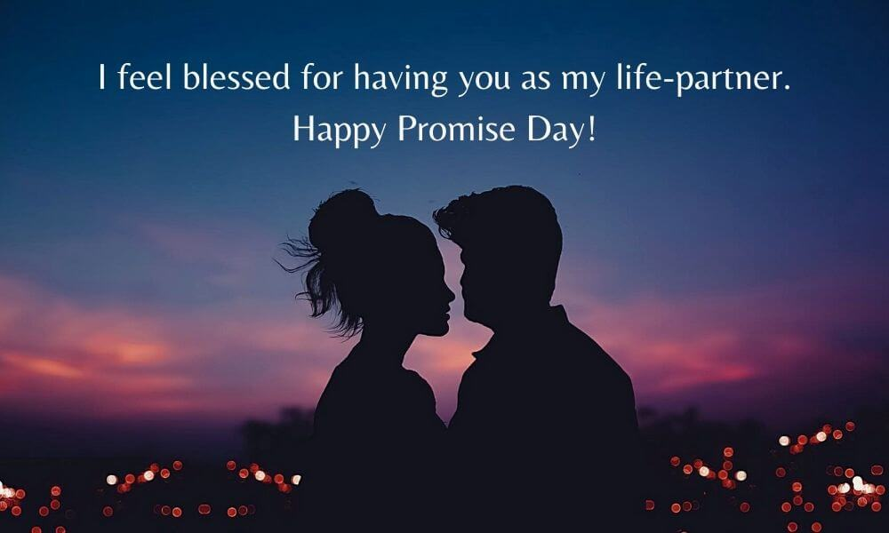 Happy Promise Day Wish for Husband