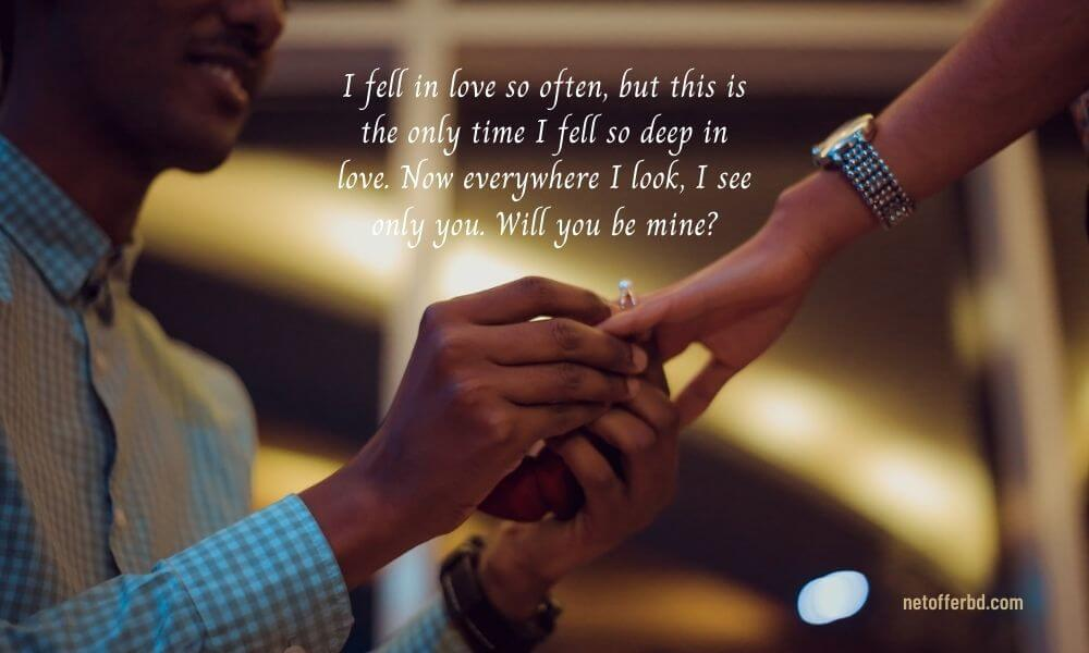 Happy Propose Day Quote for Crush
