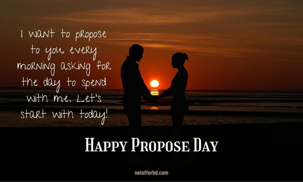 Happy Propose Day Wish for Acceptance