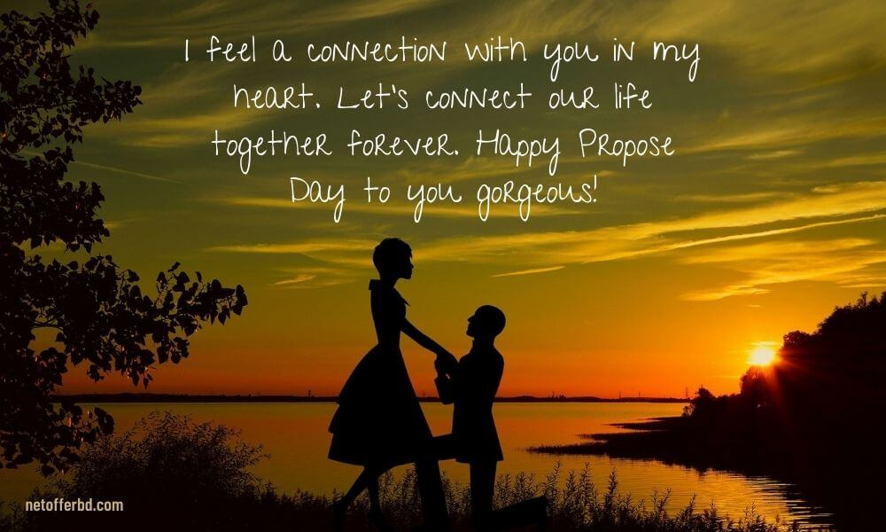 Happy Propose Day Wish for Girlfriend