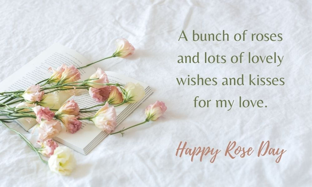 Happy Rose Day Greeting Wish to Girl