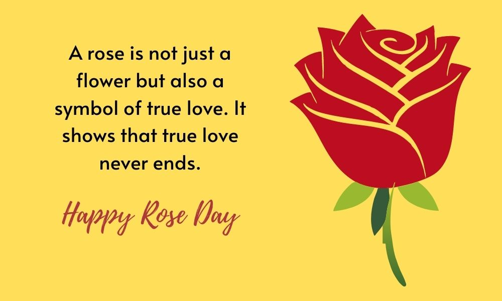 Happy Rose Day Message for Her