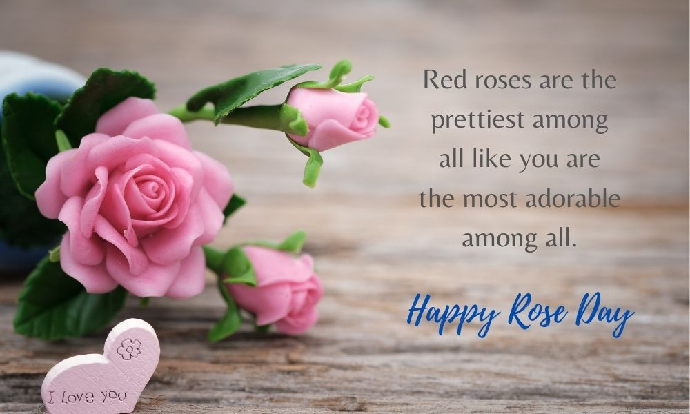 Happy Rose Day Text Message