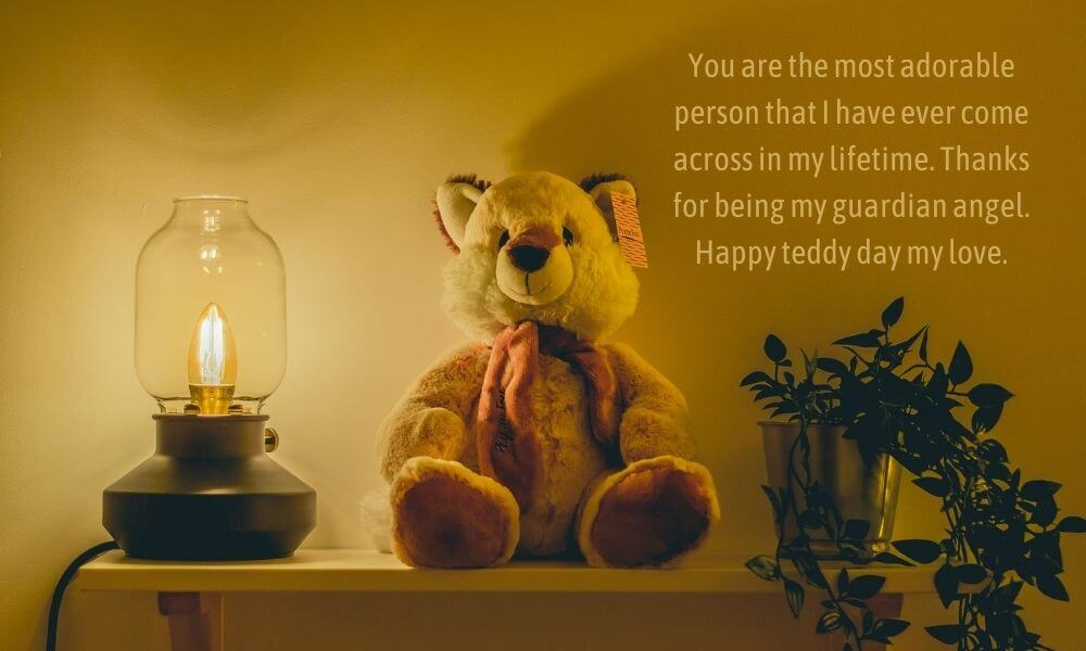 Happy Teddy Day Quote for Love