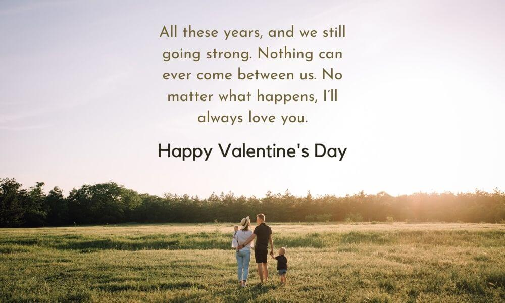 Happy Valentine's Days Message for Hubby