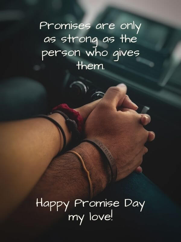 Promise Day Msg for Wife