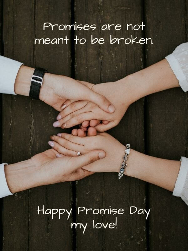 Promise Day Quote Wish for Girlfriend