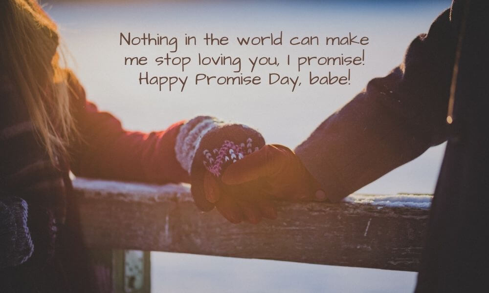 Promise Day Quote for Girlfriend