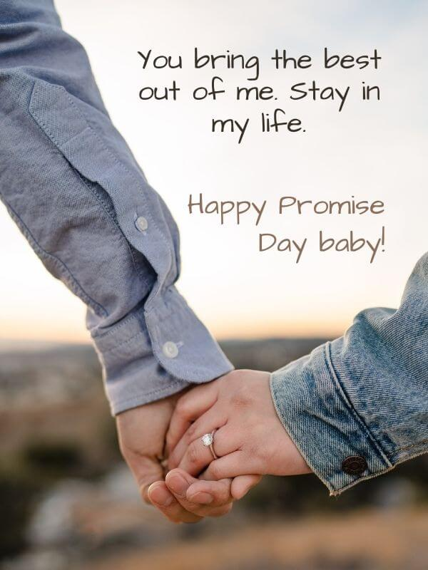 Promise Day Quote for Wife