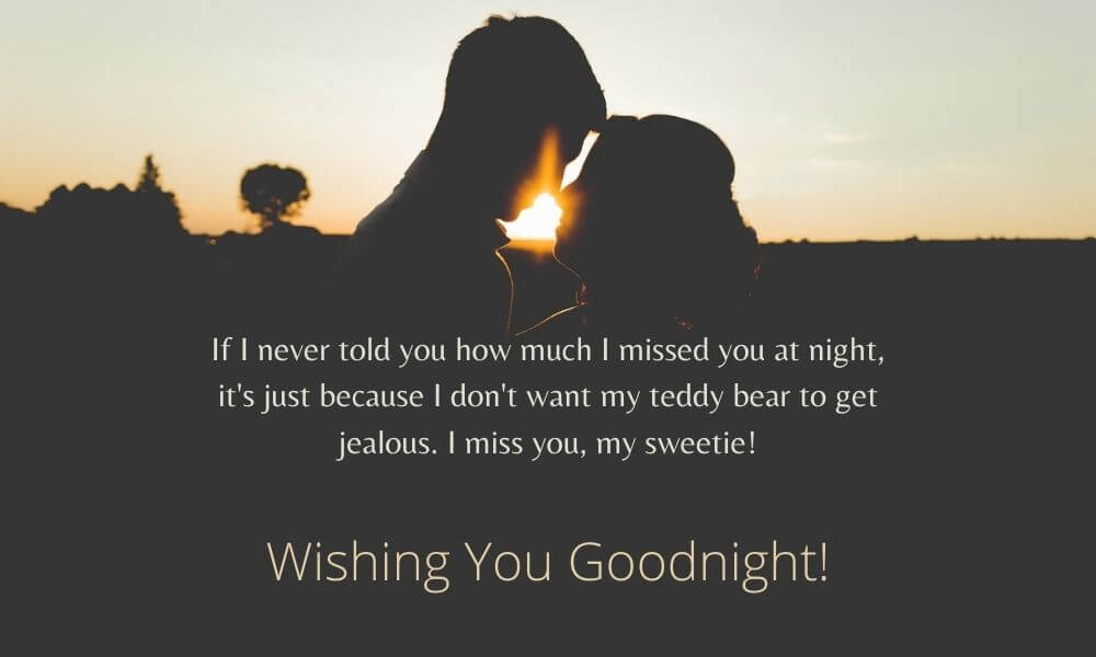 Romantic Good Night Message