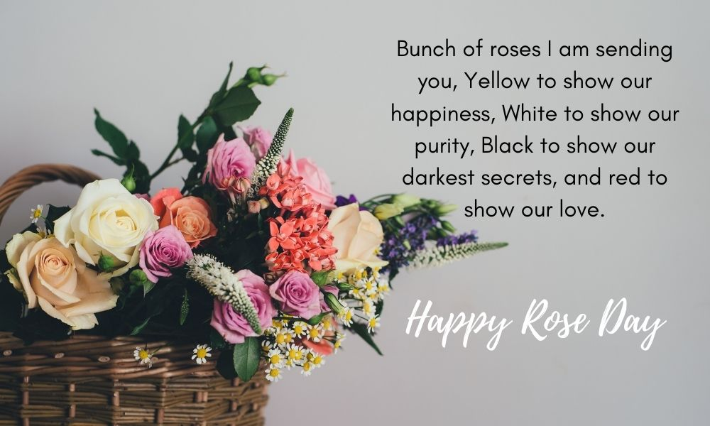 Rose Day Wish for Girlfriend
