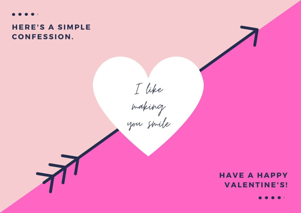 Valentine's Day Card for Propose