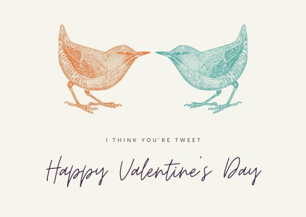 Valentine's Day Card for Social Media